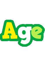 Age soccer logo