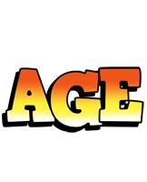 Age sunset logo