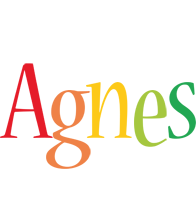 Agnes birthday logo