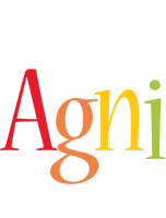 Agni birthday logo