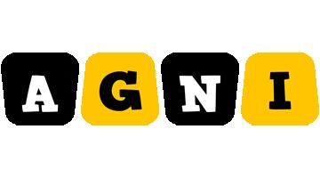 Agni boots logo