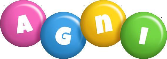 Agni candy logo