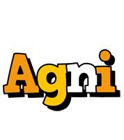 Agni cartoon logo