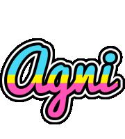 Agni circus logo