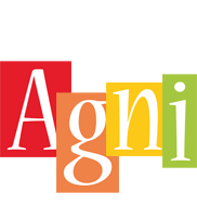 Agni colors logo