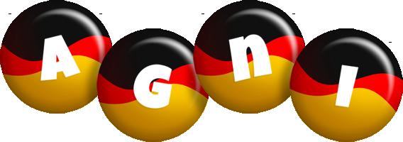 Agni german logo