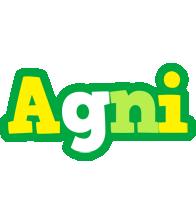 Agni soccer logo