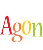 Agon birthday logo