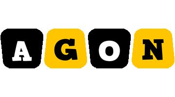 Agon boots logo