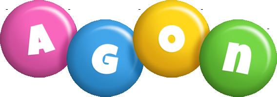 Agon candy logo