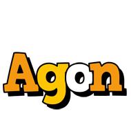 Agon cartoon logo