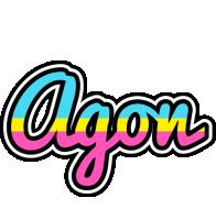 Agon circus logo