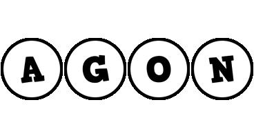 Agon handy logo