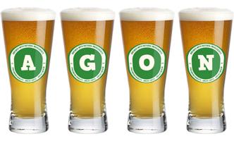 Agon lager logo