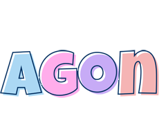 Agon pastel logo