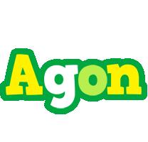 Agon soccer logo