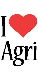 Agri i-love logo