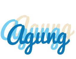 Agung breeze logo