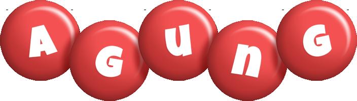 Agung candy-red logo