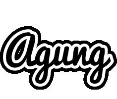 Agung chess logo