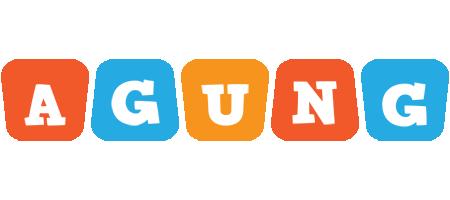 Agung comics logo
