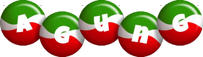Agung italy logo