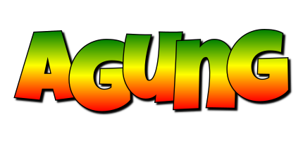 Agung mango logo