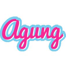 Agung popstar logo