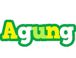 Agung soccer logo