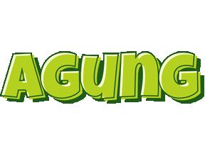Agung summer logo