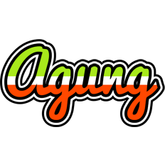 Agung superfun logo