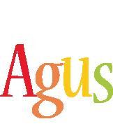 Agus birthday logo
