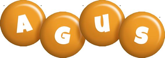 Agus candy-orange logo