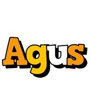 Agus cartoon logo