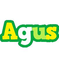 Agus soccer logo