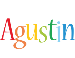 Agustin birthday logo