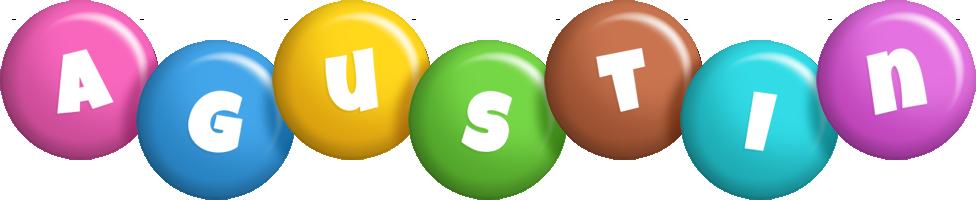 Agustin candy logo