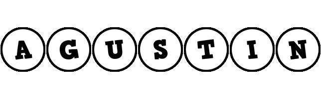 Agustin handy logo