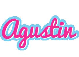 Agustin popstar logo