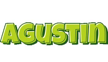 Agustin summer logo