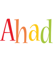Ahad birthday logo
