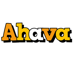 Ahava cartoon logo