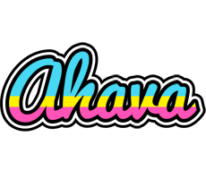 Ahava circus logo