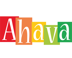 Ahava colors logo