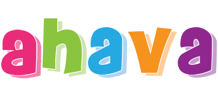 Ahava friday logo