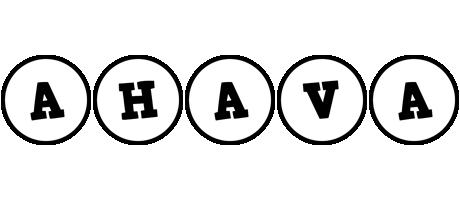 Ahava handy logo