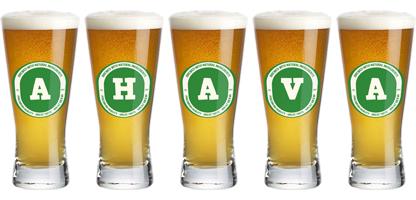Ahava lager logo