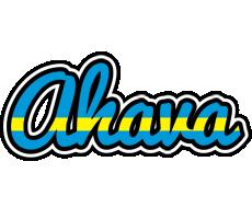 Ahava sweden logo
