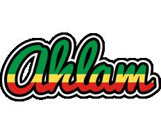 Ahlam african logo