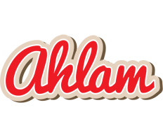 Ahlam chocolate logo